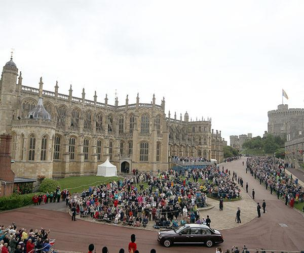 St. George's Chapel is certainly no Westminster Abbey but it's still fit for a prince!