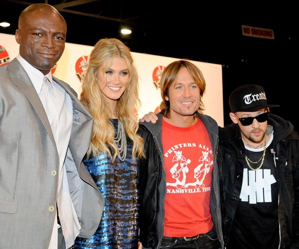 Fans would love a familiar face like past judges, Keith Urban and Joel (pictured) and Benji Madden.