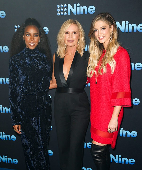 Kelly, Sonia and Delta were out in full force at the Channel 9 upfronts this week.