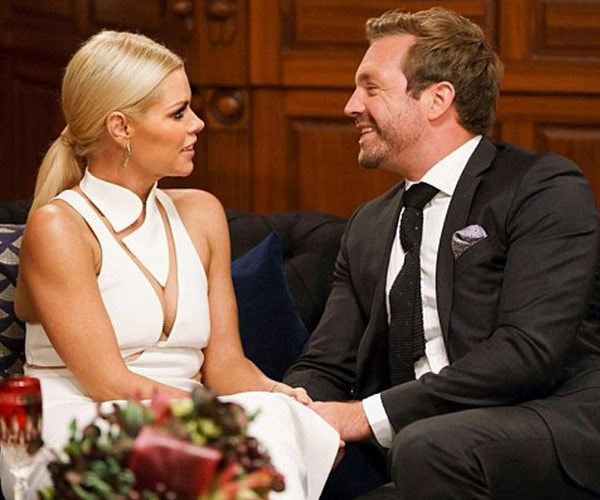 Sophie Monk and James Trethewie