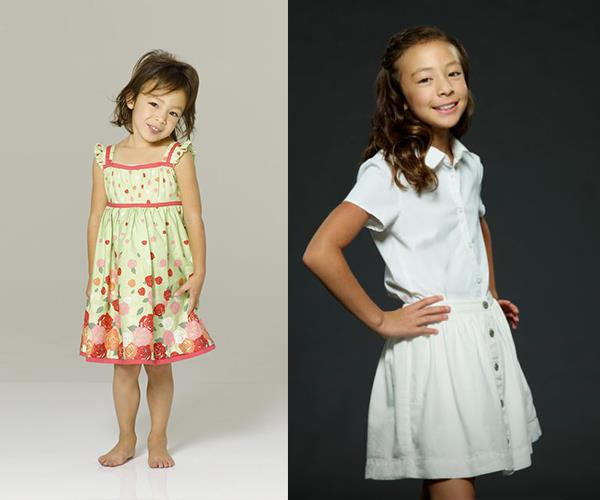 **Aubrey Anderson-Emmons** joined the cast in season three to play Cam and Mitchell's adopted daughter, Lily. Before that, the character was played by little bubs Ella and Jaden Hiller.