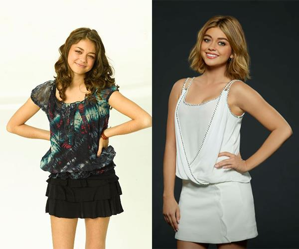 Sassy Haley Dunphy is played by **Sarah Hyland**.