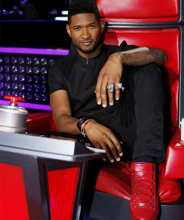 This isn't Usher's first rodeo!