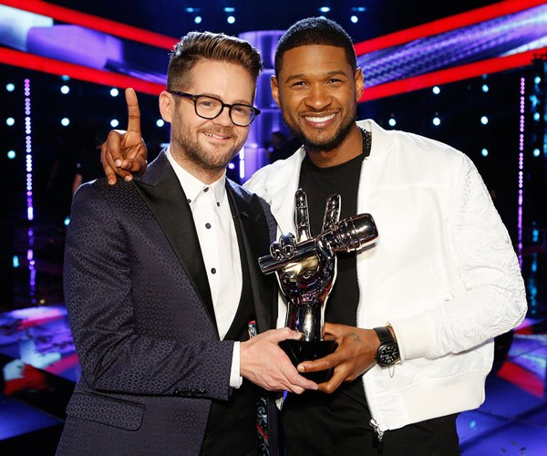 He won the 2014 American series with his team's singer Josh Kaufman.