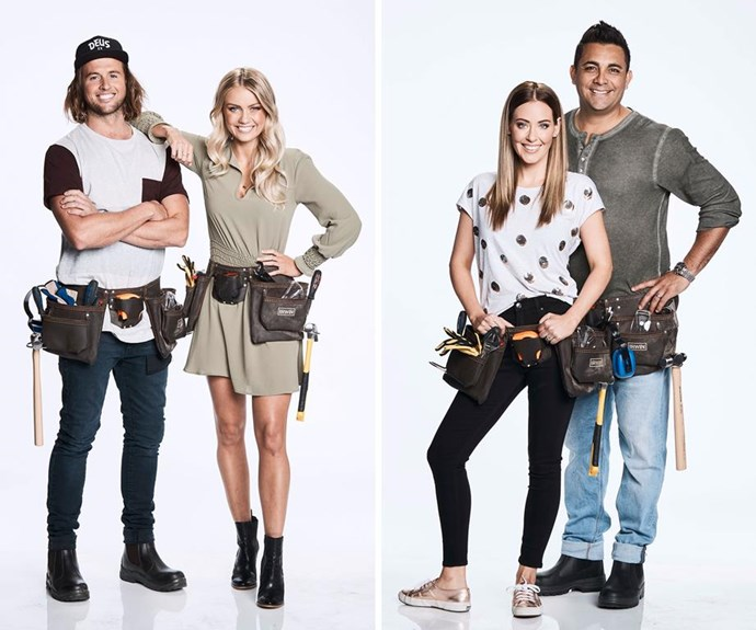 Josh and Elyse and Ronnie and Georgia are fierce rivals