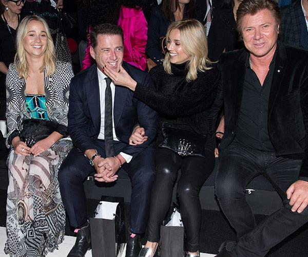 Jasmine is very close to Karl's friend and co-host Richard Wilkins.