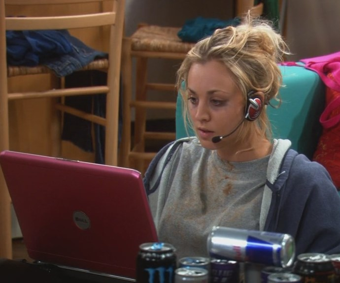 "***""The Barbarian Sublimation"" -*** **The lowdown:** After a run of bad luck, a down-and-out Penny (Kaley Cuoco) is introduced to the world of online gaming. She soon becomes obsessed with her new virtual reality. With half-eaten chips in her hair and no sense of what day it is, Penny is lost in the digital world – until 