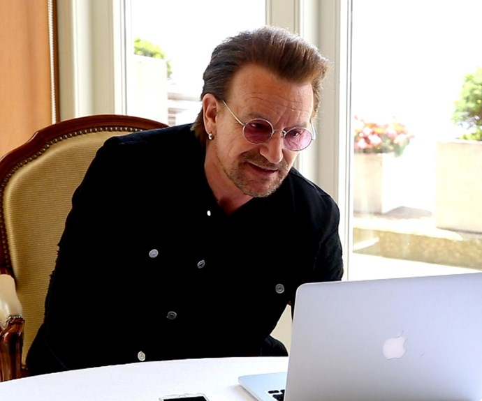 U2's Bono makes an appearance in the documentary.