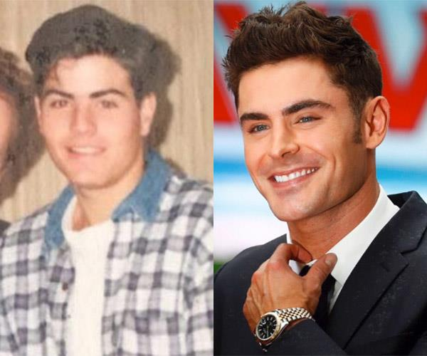 Young Stu is Zac Efron's double! He shared this picture to his Instagram page and it sent fans wild...
