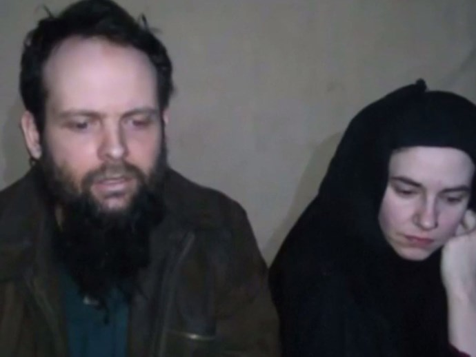 Joshua Boyle and wife Caitlan Coleman