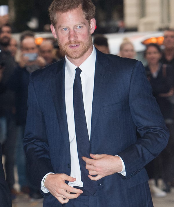 Harry's attendance follows the news that his girlfriend Meghan Markle has quit *Suits*.