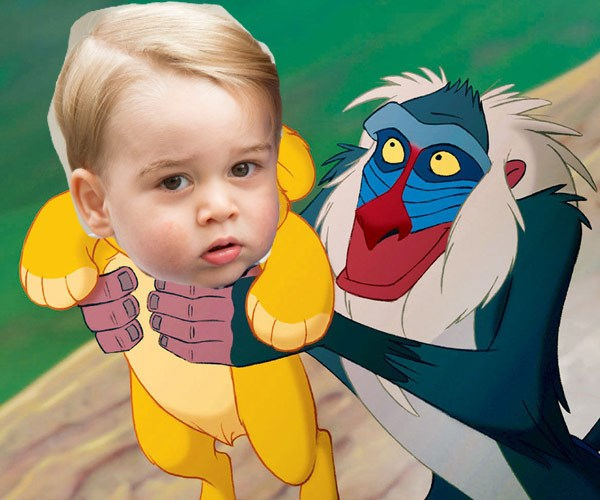 FACT: George is pretty much a real life Simba.