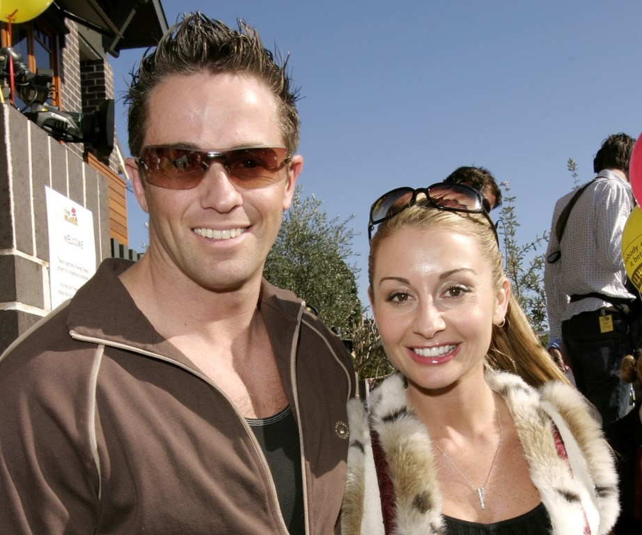 Adam and Fiona way back in 2003.