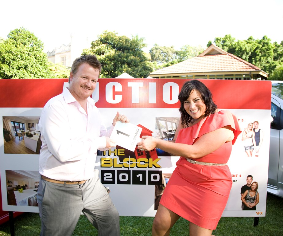 John and Neisha won $305, 000 for winning *The Block*.
