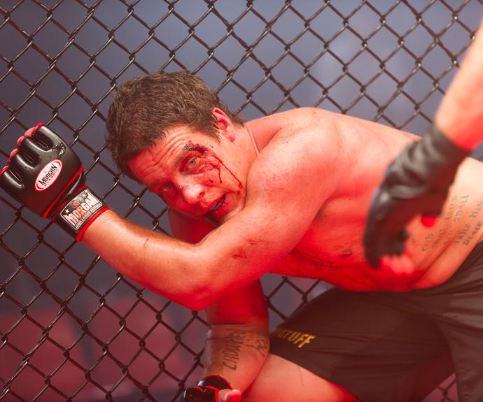 To make some much-needed cash, the River Boy took up the dangerous sport of cage-fighting. Despite being unfit to fight, Brax persisted, only to be knocked out cold during the fight.