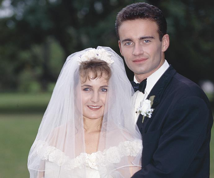 **Julian McMahon:** Ben Lucini (1990–1991) **THEN:** He was a soldier from an Italian family who fell for Carly (Sharyn Hodgson). They kissed, skinny-dipped, and eventually married. Ben  was later arrested for going AWOL from the army.