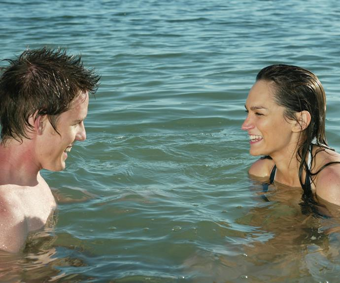 **Nicole De Silva:** Jane Sims (2006) **THEN:** Nicole had a small role as a student who met Kim and Robbie for a swim. She ended up locking lips with Robbie.