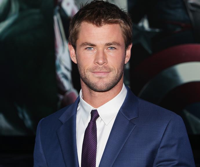 **NOW:**  The Aussie actor is best known as hammer-wielding superhero Thor, but the 34-year-old has also flexed his comedic chops in the *Ghostbusters* reboot and taken to the track in the Ron Howard film *Rush*.