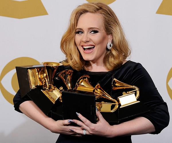 Hello? How are you? Sore and itchy! Adele admits she's an eczema sufferer.