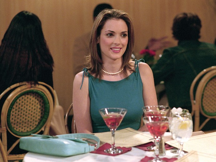 "**Winona Ryder –** ***Friends*** This is the ep where Rachel  meets up with a high school friend who fell for her after a drunken tryst during their college days. *Stranger Things* star **Winona Ryder** appeared as Rachel's old sorority sister, Melissa Warburton, who now denies anything happened.  Cue lashings of ""Will they? Won't they?"" sexual tension as the episode builds up to the big snog while the show's resident kook Phoebe (**Lisa Kudrow**) looks on. After Melissa makes her awkward exit, Phoebe dives in for a snog to see what all the fuss was about."