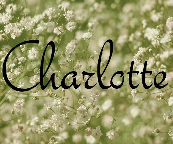 **Charlotte**  *Charlotte's Web,* by E. B. White