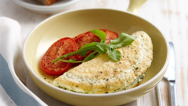 Add some fresh vegetables to your favourite omelette recipe for a low GI-loaded hit.