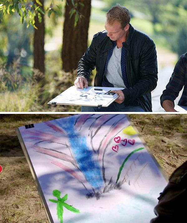 "Then he drew for her. But the ultimate gift (other than his heart): [was the pot plant](https://www.nowtolove.com.au/celebrity/tv/jarrod-woodgate-pot-plant-the-bachelorette-41842|target=""_blank"")."