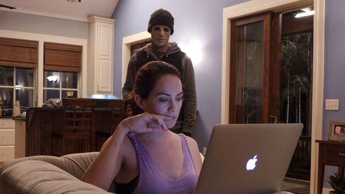 ***Hush*** – **Netflix** This flick follows a deaf woman who lives alone in the woods (why do people live alone in the woods?!) and is being hunted by a murderous intruder. The movie is mostly in silence which makes the suspense and tension even more intense.