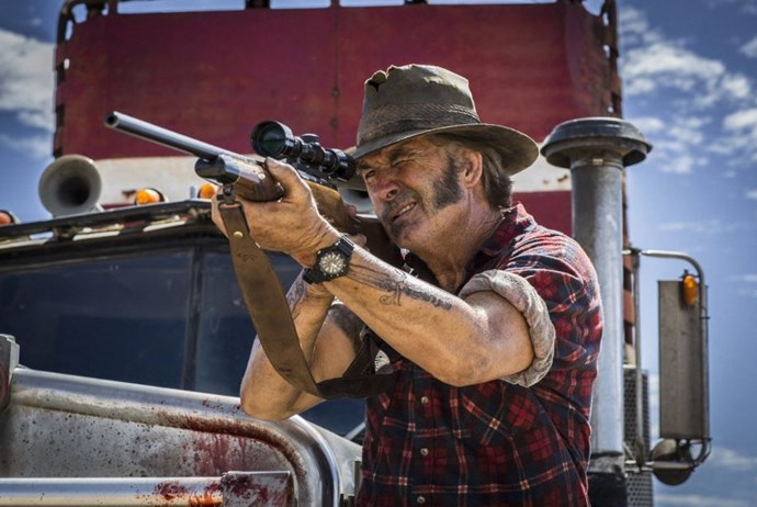 ***Wolf Creek*** - **Stan** Mick Taylor. Just hearing the name will give you goosebumps. John Jarrat plays the psychopathic hunter who picks off tourists one by one in sick ways.