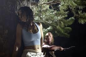 ***Wrong Turn*** – **Stan** Eliza Dushku stars in this horror flick as six friends go away for a weekend in the woods and are hunted by a group of cannibalistic, sadistic men.