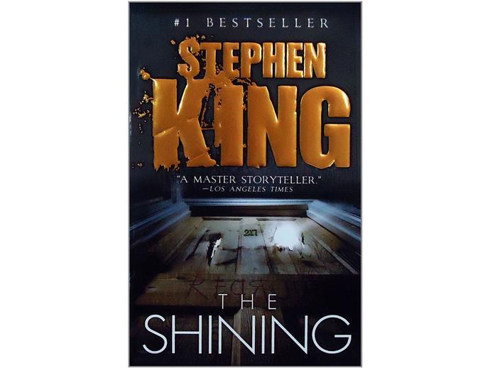The Shining: Stephen King came in at number 1.