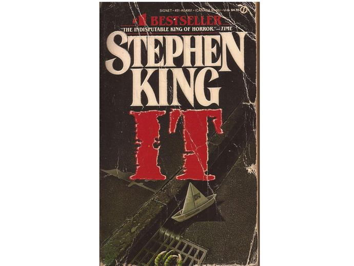 It: Stephen King.  It's the movie everyone's talking about and the book every horror enthusiast needs to read.