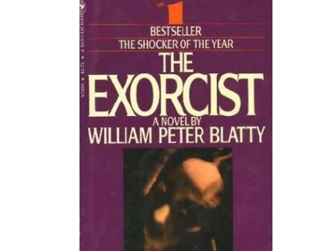 The Exorcist: William Peter Blatty. You've seen the movie, but you haven't been truly scared until you've read the book.