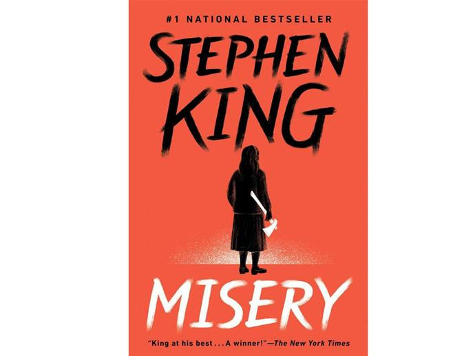 Misery: Stephen King. You'll never be able to look at Kathy Bates the same way...