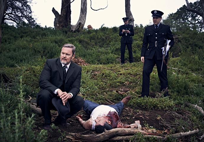 What grisly crimes will feature in the new series?