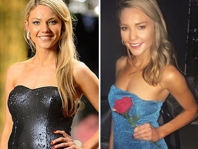 Sam Frost as herself from her time on the Bachelor may have just won Halloween.
