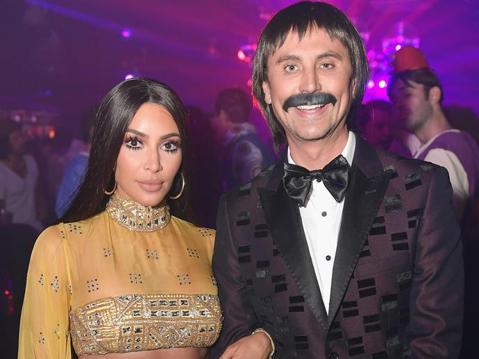 Kim Kardashian and best friend, Jonathan Cheban were a hit as Sonny and Cher