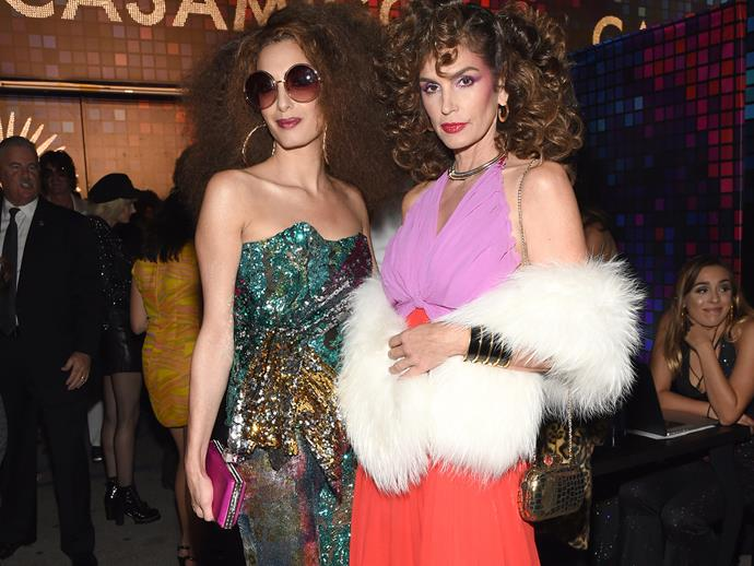 Cindy Crawford and Amal Clooney are almost unrecognisable