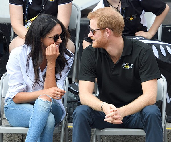 Who can forget the moment Harry took things to a whole new level, going public with Meghan Markle at the Invictus Games?