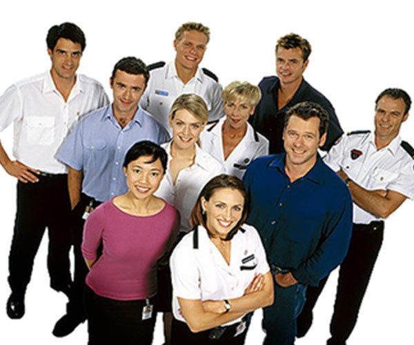 The hugely popular *All Saints* followed the lives of the medical staff on ward 17 at All Saints Western General Hospital. The show, which ran from 1998 until 2009, was nominated for fifty six Logie awards and won nine.