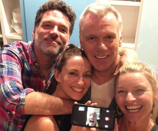 This week, some of the cast reunited and fans were quick to question if it could be a sign of things to come. We must admit, the smiles on Georgie Parker, Tammy Macintosh, Josh Quong Tart and Erik Thomson's face says it all - they look *very* happy to be back together.