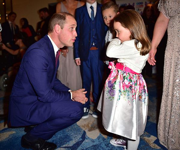 Prince William was so inspired by Suzie McCash saving her mother's life that he plans to pass on her smarts to his little son.
