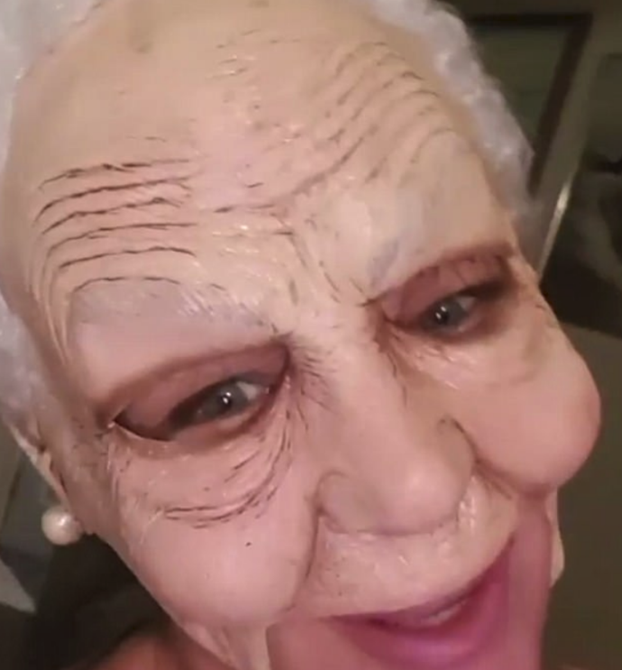 Schapelle Corby celebrated her first Halloween back in Australia with an amazing old woman mask – she was unrecognisable!