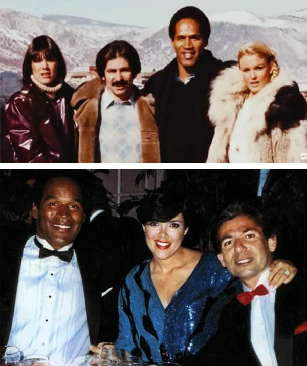 Kris and Rob were good friends with O.J. and his wife Nicole.