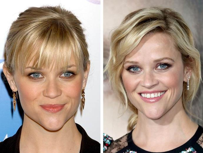 Researchers claim Reese Witherspoon heart-shaped face makes her the benchmark for beauty.