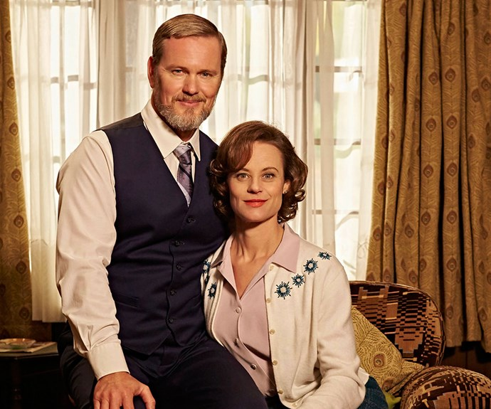 Doctor Blake and Jean (Nadine Garner)