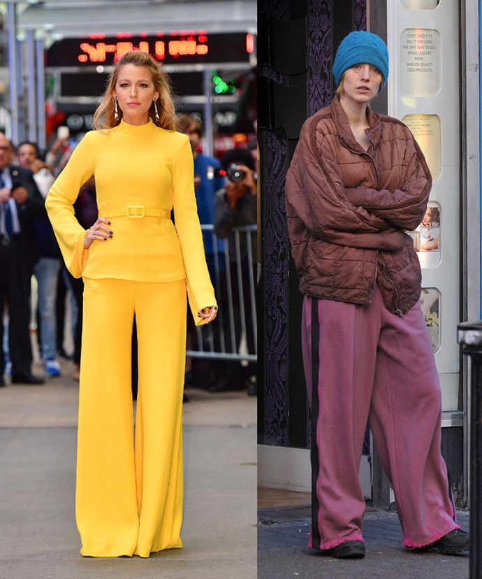 Hollywood's glamour girl Blake Lively undergoes a serious make-under for her new film *The Rhythm Section*. Even Blake's husband Ryan Reynolds's had to weigh in on his wife's dramatic new look posting a shot of Blake on set to his Instagram account with the caption #nofilter.