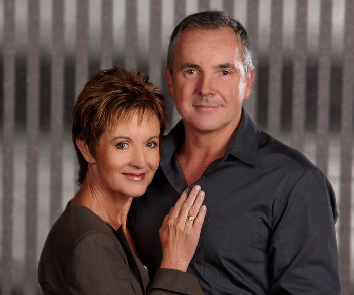 **Karl and Susan Kennedy -** ***Neighbours***  Having been married for 20 years, Karl (Alan Fletcher) and Susan (Jackie Woodburne) have been through everything from affairs to several separations, and even near-death experiences. If they can survive all that, they can survive anything.