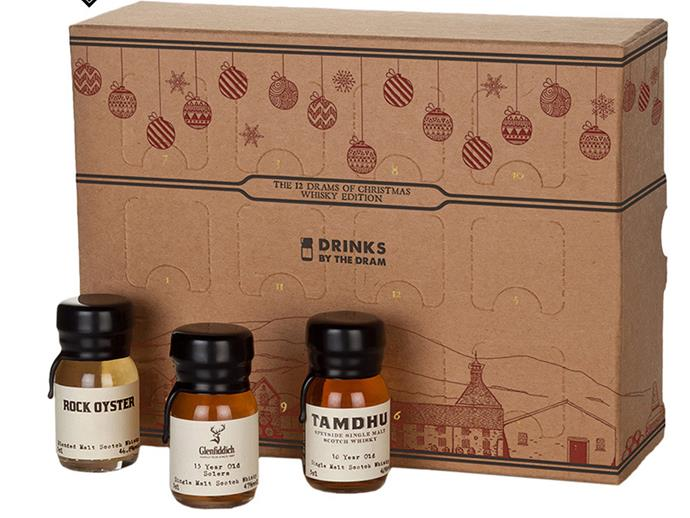 """**Whiskey Advent Calendar** <br><br> This Whiskey Advent Calendar is guaranteed to provide 12 days of fun, a perfect gift for your whiskey loving partner. You can buy it from [Dan Murphy's for $99.](https://www.danmurphys.com.au/product/DM_ER_1000005770_DD12D/drinks-by-the-dram-12-drams-of-christmas.jsp;jsessionid=048949F2B393E181A82688FECC9BE2C3.ncdlmorasp1304?bmUID=lZ_ihkA target=""""_blank"""" rel=""""nofollow"""")"""