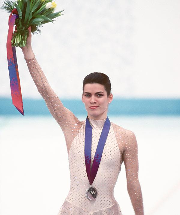 Nancy took home an Olympic silver medal.